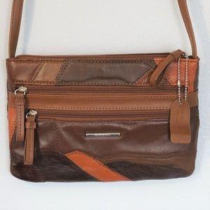 Jaclyn Smith Women's Patchwork Crossbody Bag